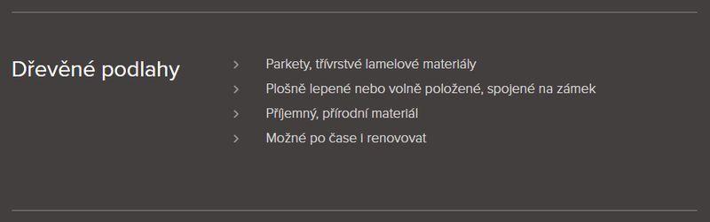 Podlahářství BOHEMIA Jiří Hochman - Dřevěné podlahy