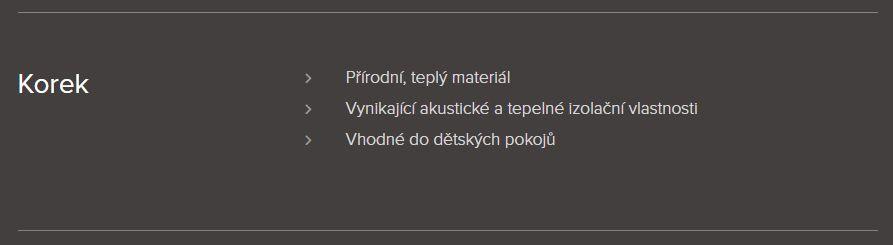 Podlahářství BOHEMIA Jiří Hochman - Korkové podlahy